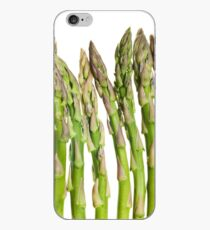 Asparagus Isolated On White Background iPhone Case