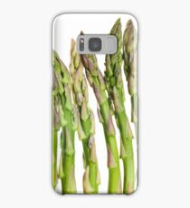 Asparagus Isolated On White Background Samsung Galaxy Case/Skin
