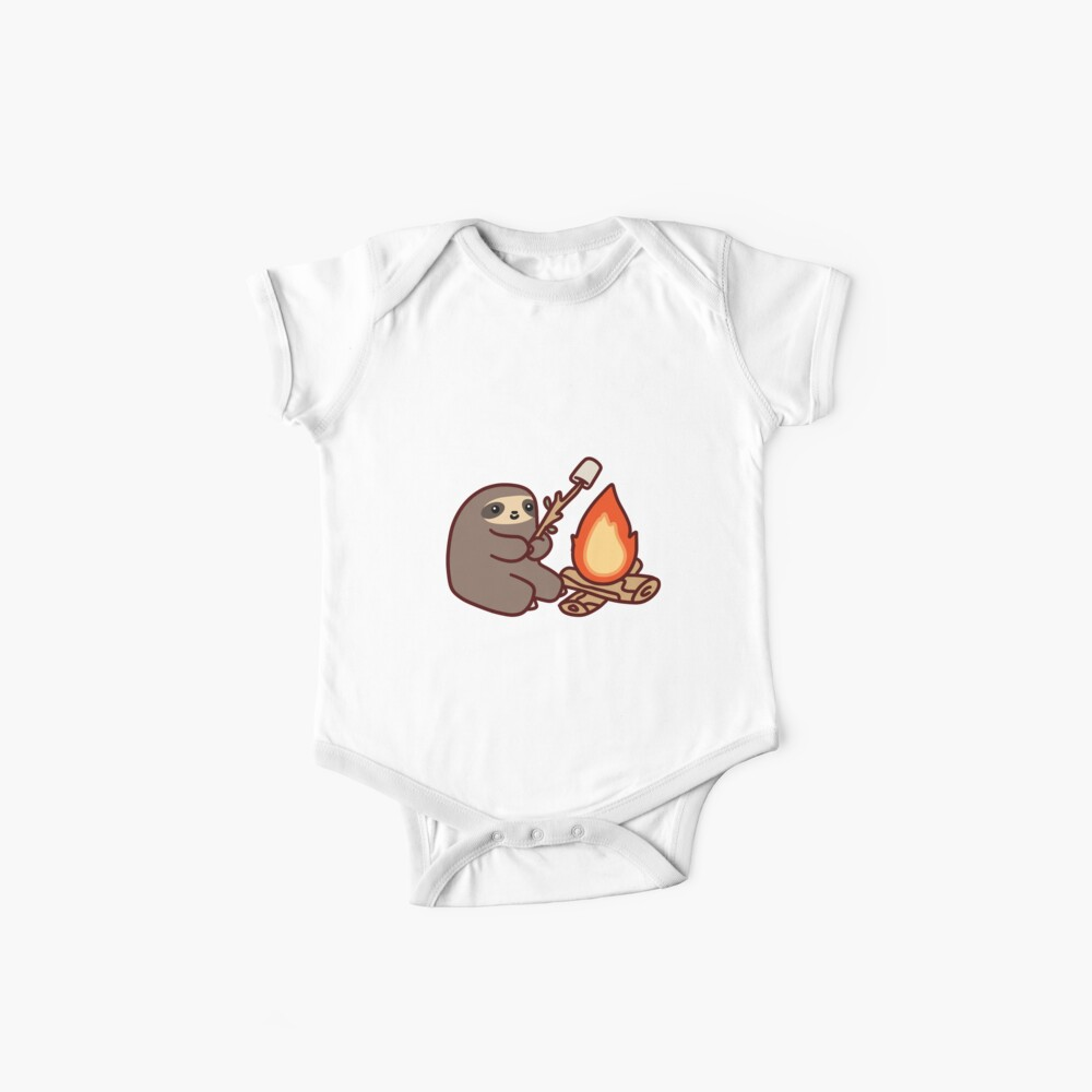 Campfire Sloth Baby One-Piece
