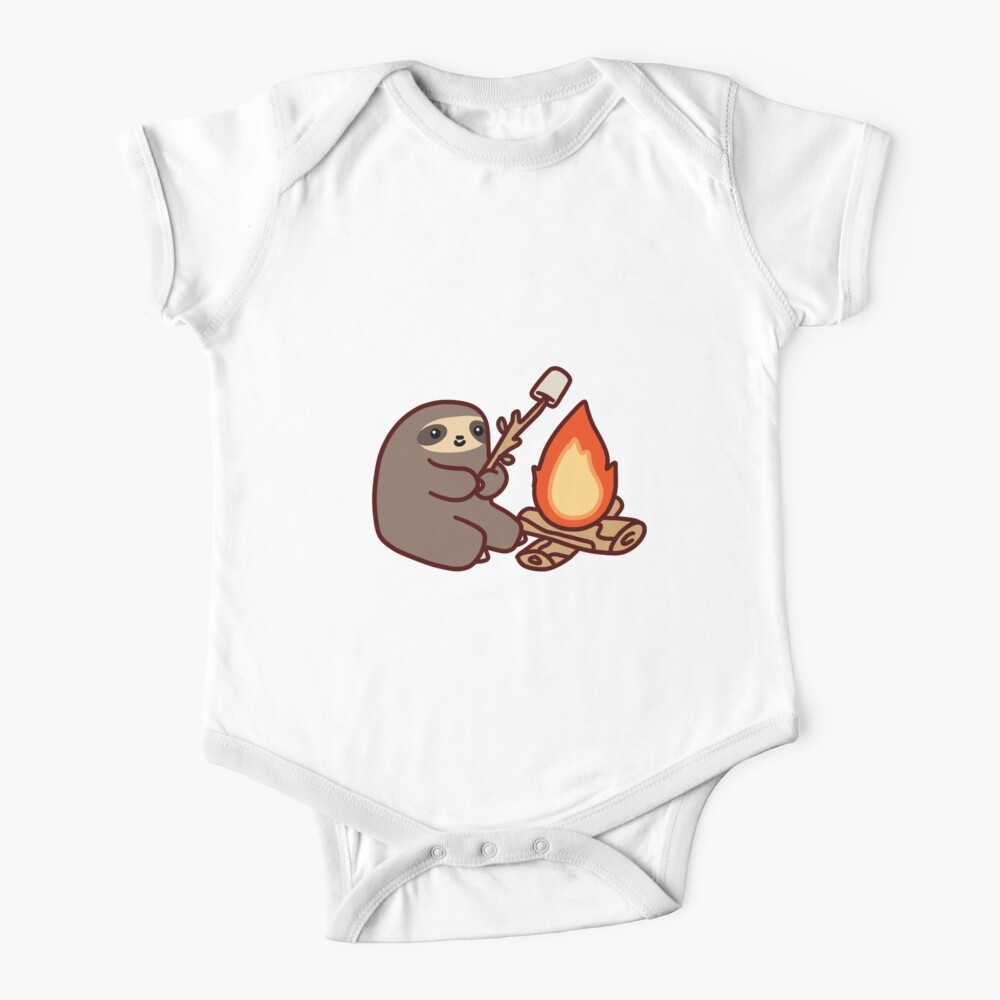 Campfire Sloth Baby One-Piece