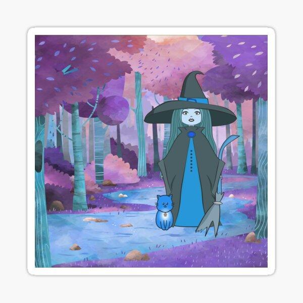 Woodland Witchery Dreamscape Cheeky Witch® Sticker