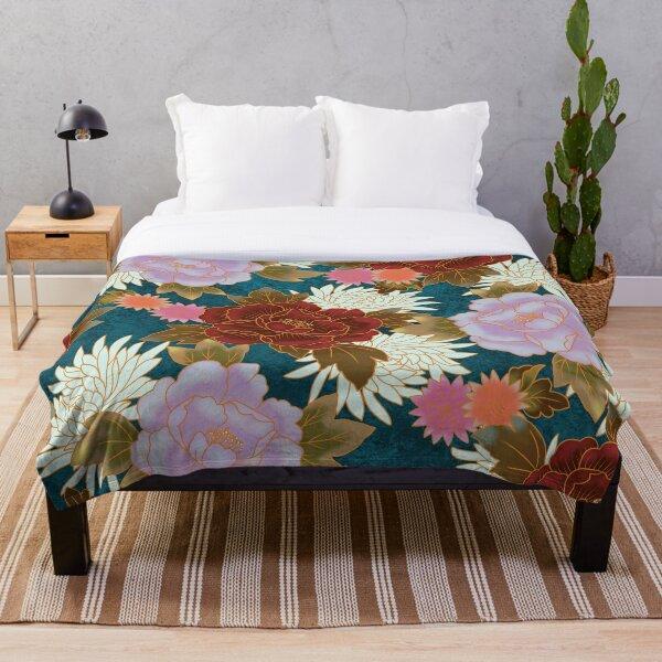 Pattern kimono V1 Throw Blanket