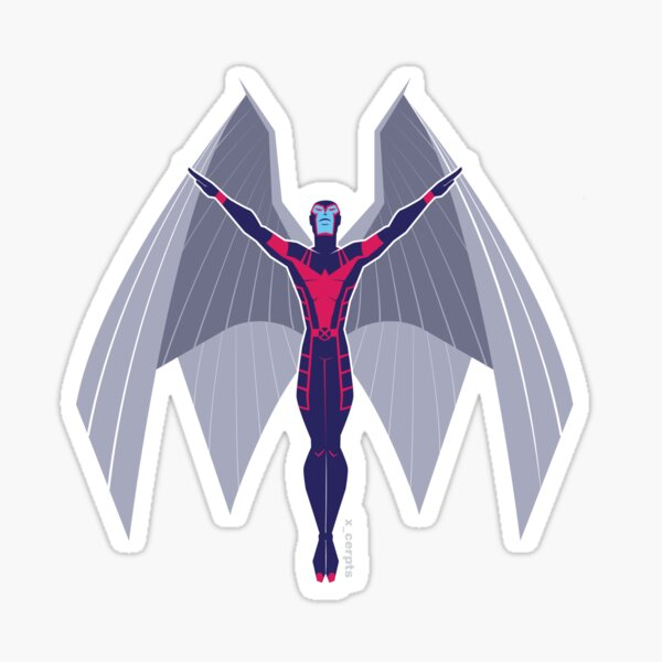 The Angel of DEATH Sticker