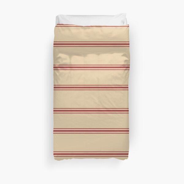 Utility stripes Duvet Cover