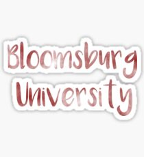Bloomsburg University of Pennsylvania Sticker