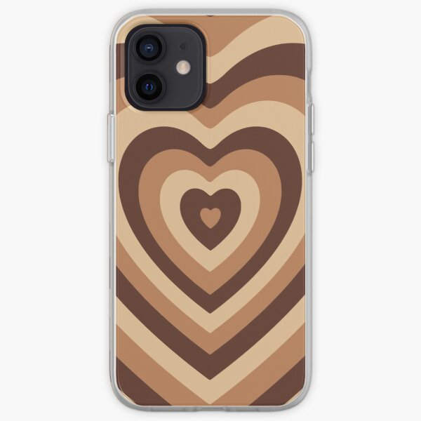 latte love wildflower iphone 12 case cute protective cover iPhone Soft Case