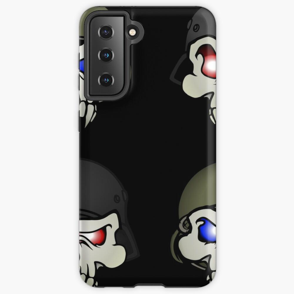 MONSTERGEDDON 42 Skull x 4 Samsung Galaxy Phone Case