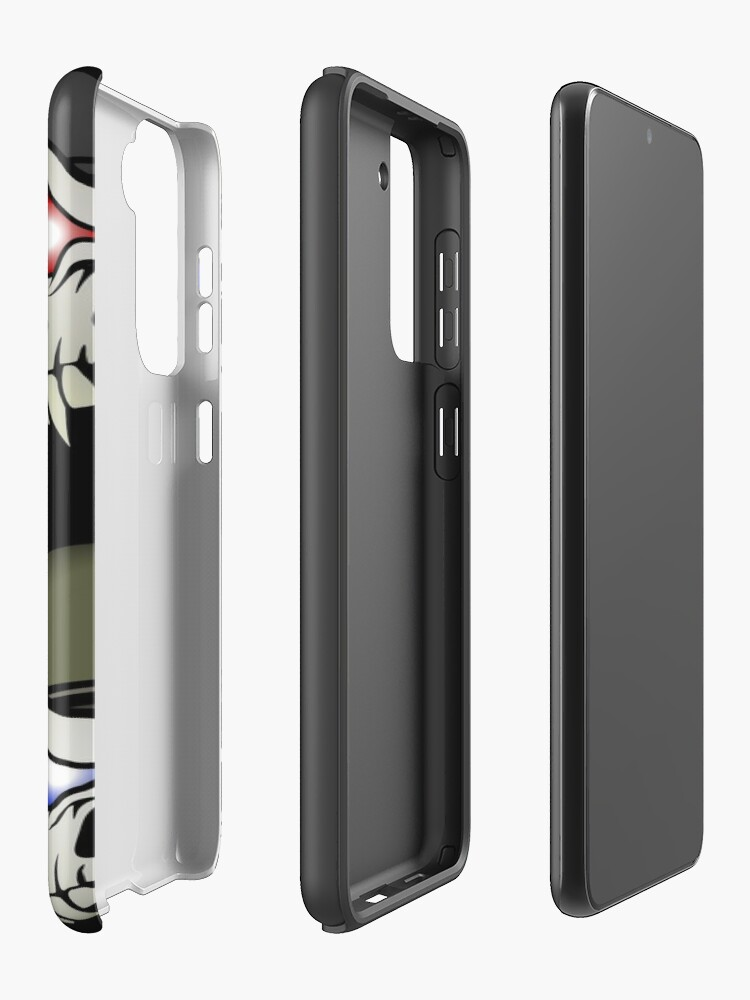 Alternate view of MONSTERGEDDON 42 Skull x 4 Samsung Galaxy Phone Case