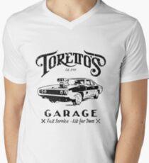 Torettos Garge Dom  Men's V-Neck T-Shirt