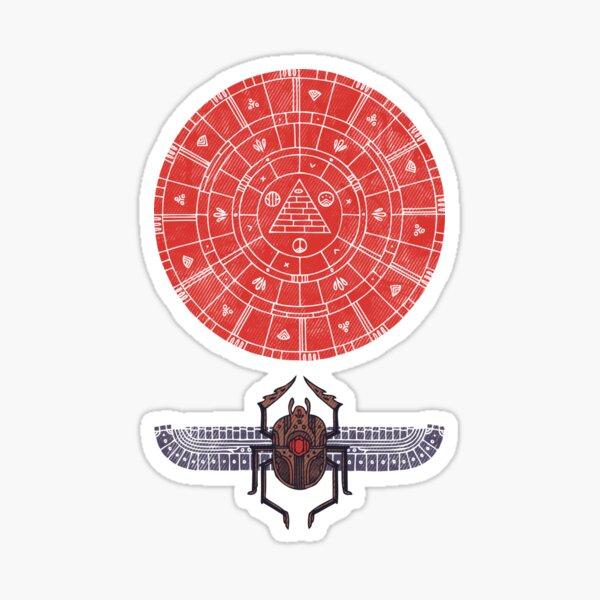 Sacred Sun Sticker