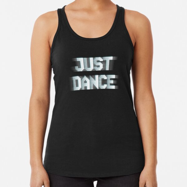 Just Dance Racerback Tank Top