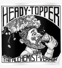 HEADY TOPPER Shirt Poster