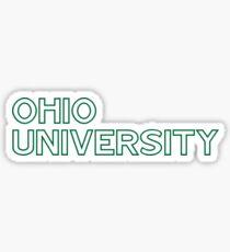 Ohio University Sticker Sticker