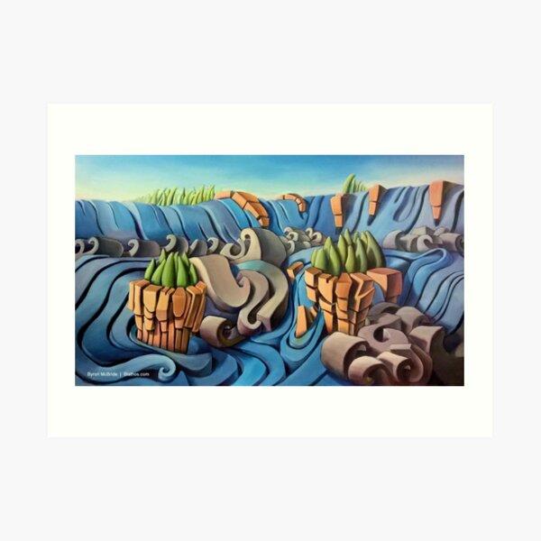 The Iguazu Falls Art Print