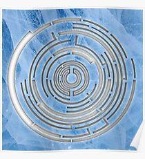 Pendulum Logo Ice Cutout Poster