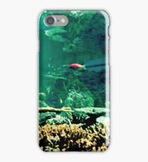 Little Fish in a Big Blue World iPhone Case/Skin