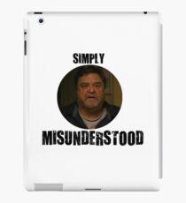 Howard - Simply Misunderstood - Cloverfield Lane iPad Case/Skin