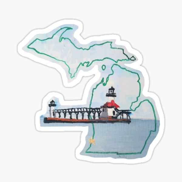 Michigan Pride Lighthouse Sticker