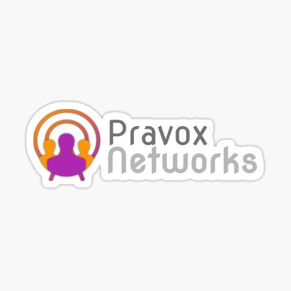 Pravox Networks [Old Logo] Sticker