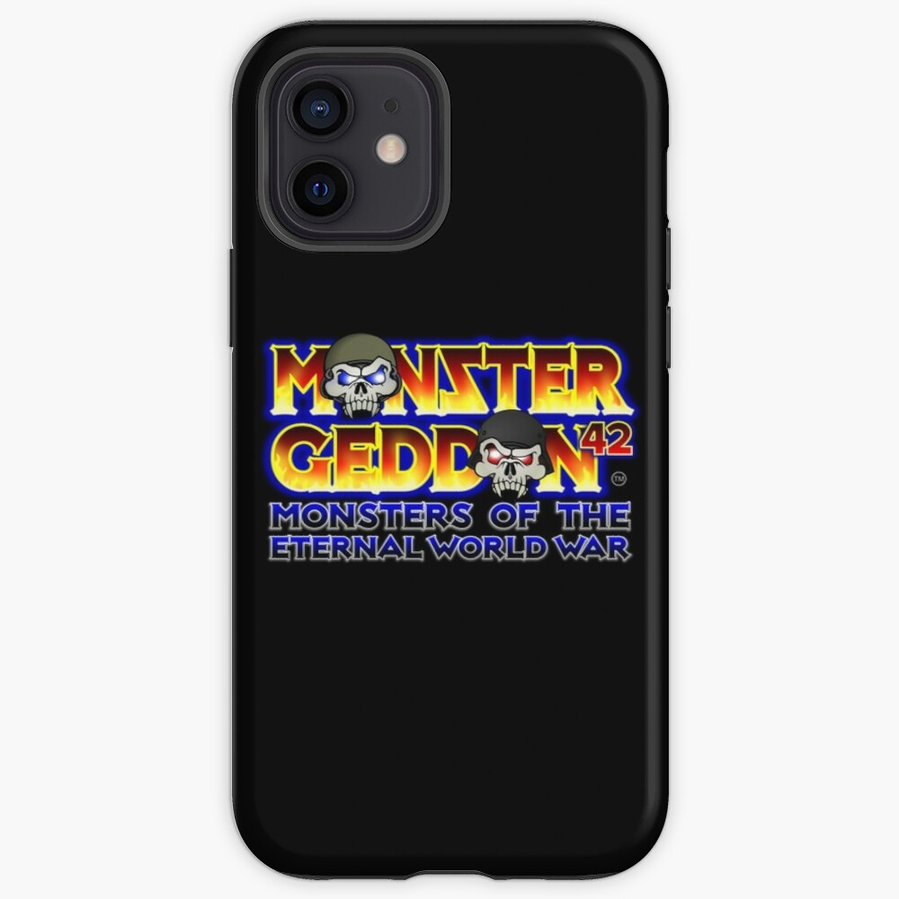 MONSTERGEDDON 42 Logo Block iPhone Case