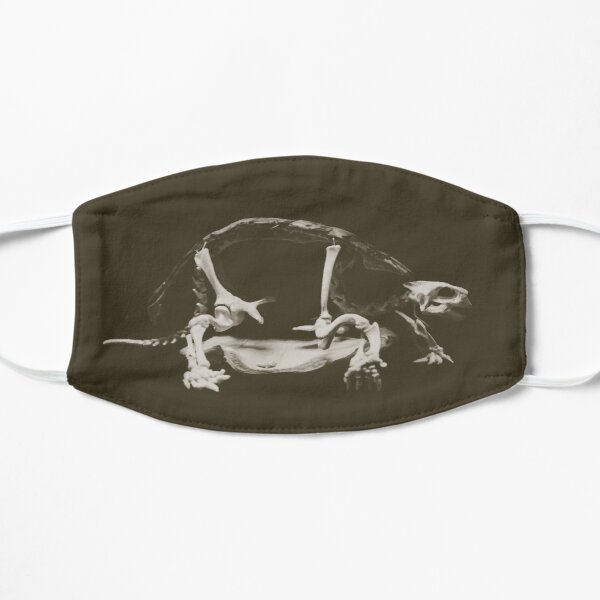 Turtle Skeleton Flat Mask