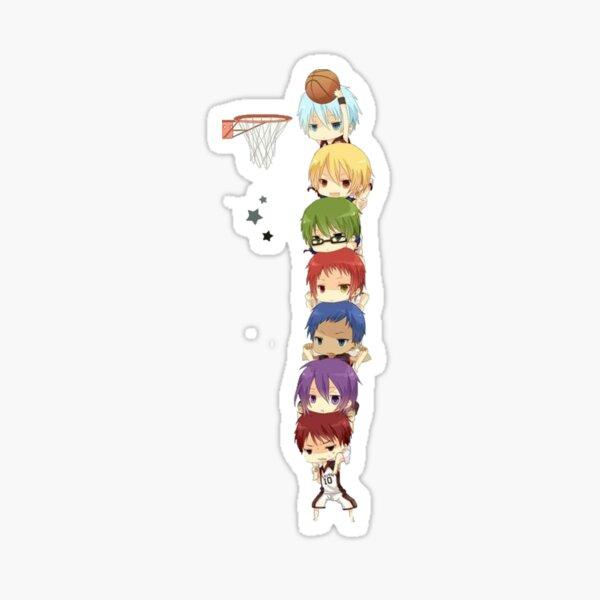 Copie de kuroko no basket Sticker fini brillant