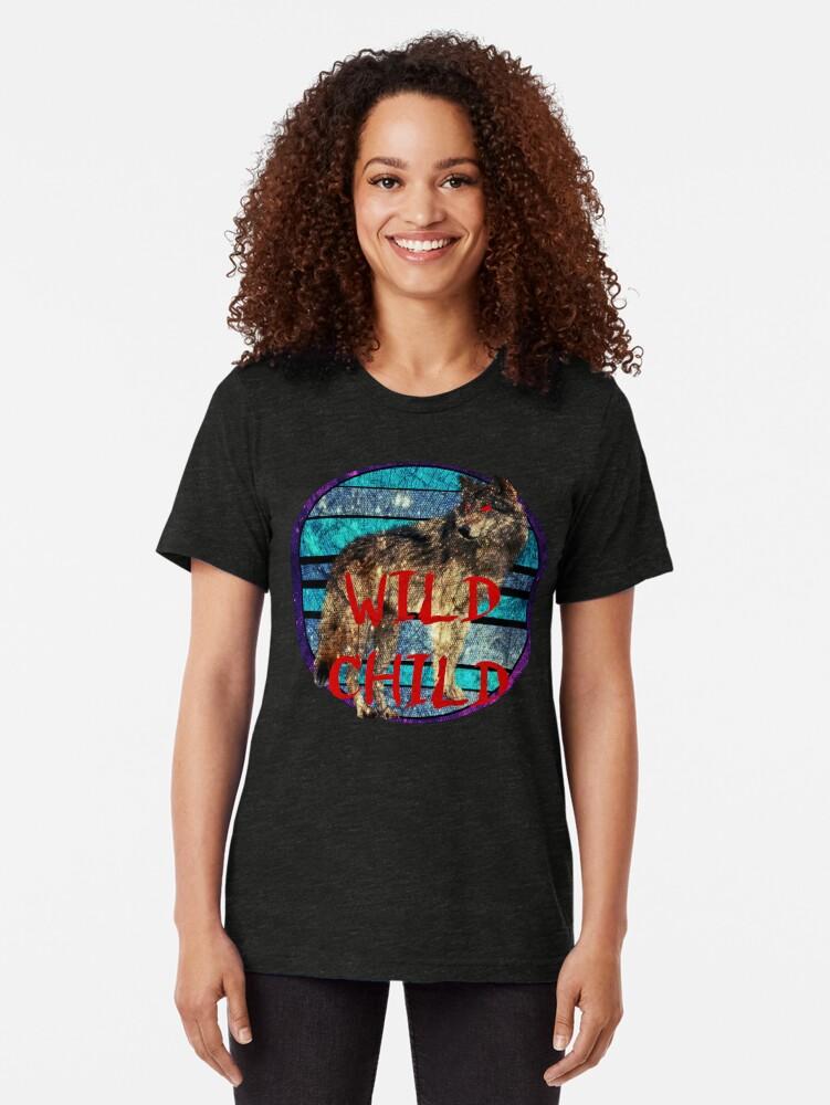 Alternative Ansicht von Wildes Kind Vintage T-Shirt