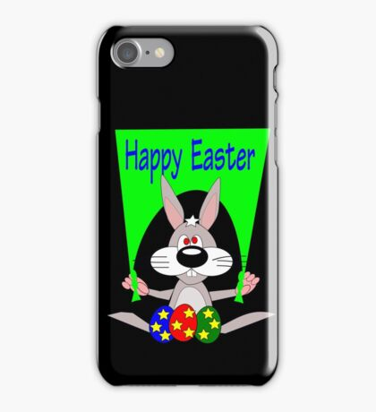Happy Easter (5251 Views) iPhone Case/Skin