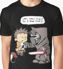 Beautiful Calvin And Hobbes Graphic T-Shirt