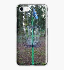 Seahawks Disk golf basket iPhone Case/Skin