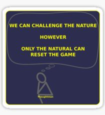 Thoughtman - Nature Sticker