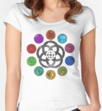 Epcot 82 Women's Fitted Scoop T-Shirt
