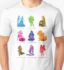 Jeder ist eine Prinzessin Slim Fit T-Shirt