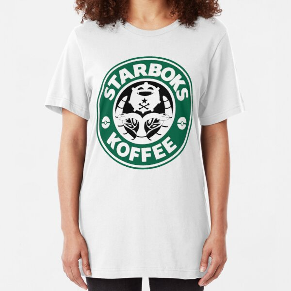Starboks Koffee Slim Fit T-Shirt
