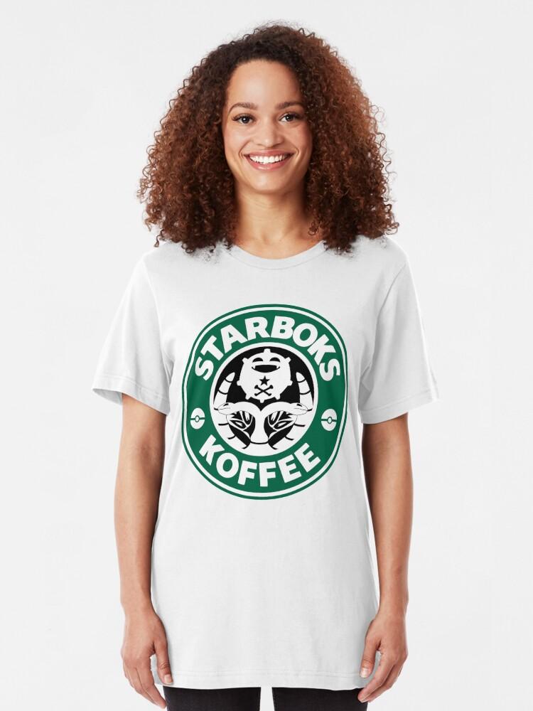 Alternate view of Starboks Koffee Slim Fit T-Shirt