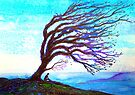 Trees - Contemplation by Linda Callaghan