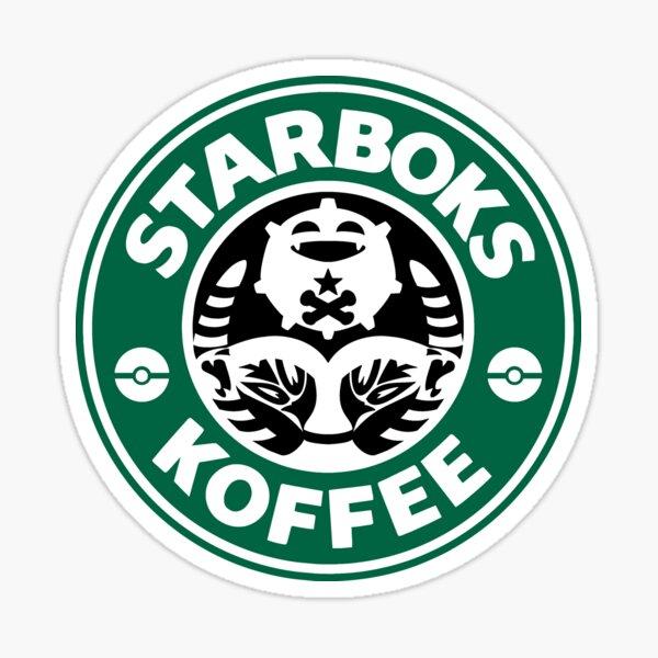 Starboks Koffee 2.0 Sticker