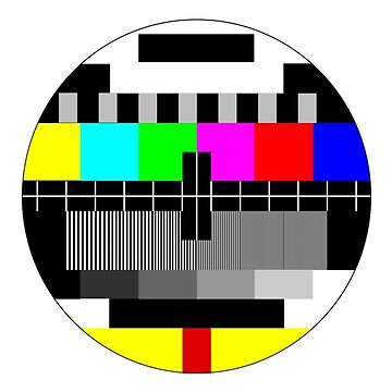 90's TV Test pattern by Enji333