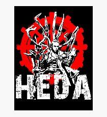 The 100 Lexa Symbol - Heda Photographic Print