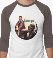 Clever Girl! Men's Baseball ¾ T-Shirt