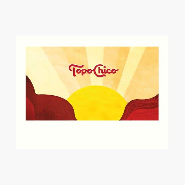 Topo Chico Sun Art Print