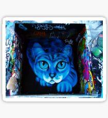 Hosier Lane Cat Sticker
