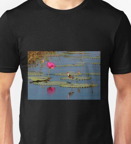 Comb-Crested Jacana on the South Alligator River, Kakadu National Park T-Shirt