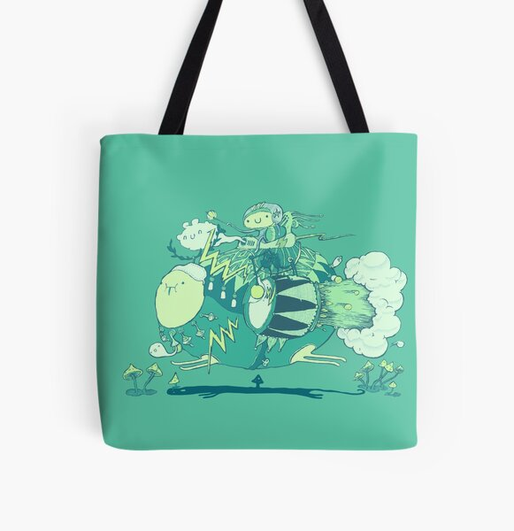 Walk with a friend All Over Print Tote Bag