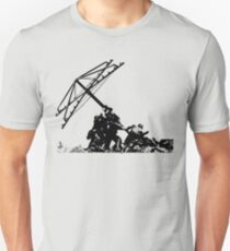 Americana - raising the Hills hoist T-Shirt