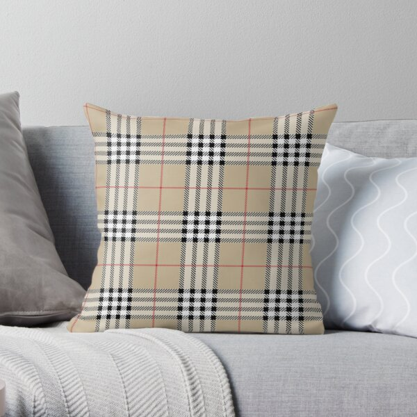 Classic Scottish Tartan plaid pattern Throw Pillow
