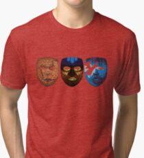 Masks - Fortress Flight Fluid [+poem] Tri-blend T-Shirt