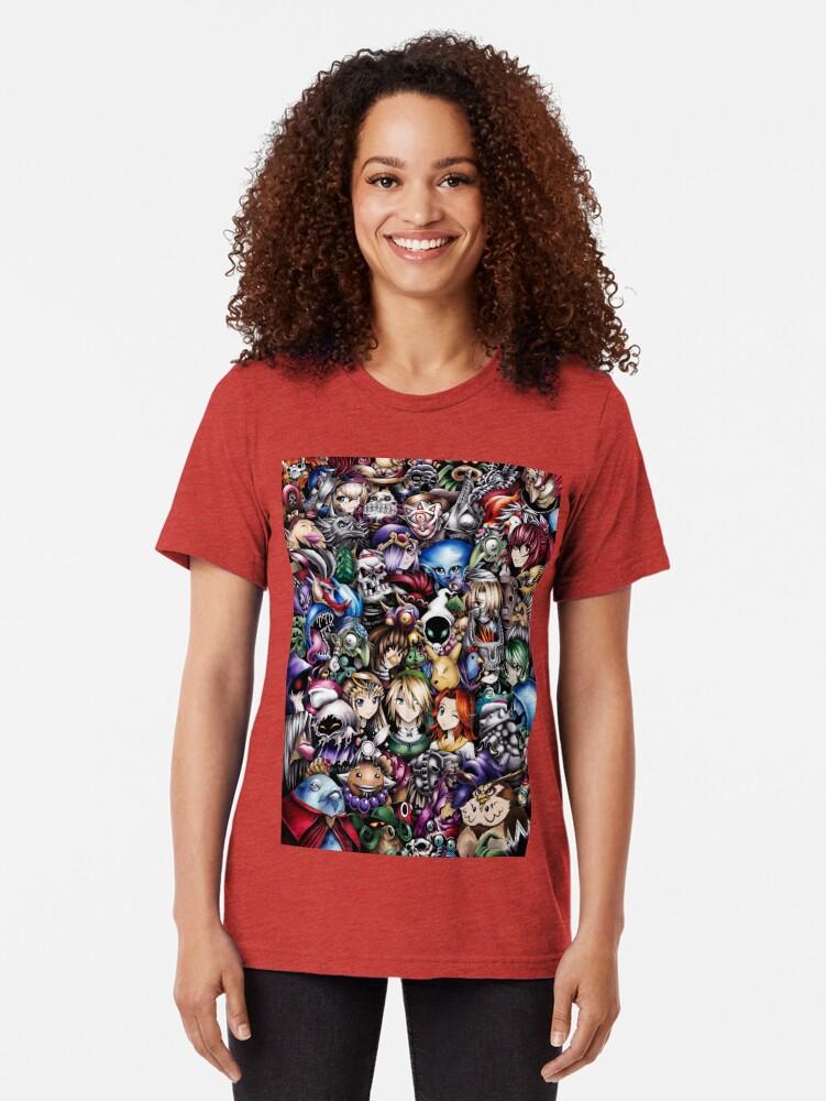 Vista alternativa de Camiseta de tejido mixto La leyenda de Zelda