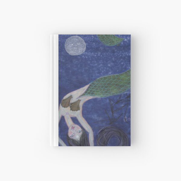 Mermaid, after Chagall Hardcover Journal