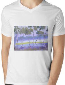 Red River Gums on the mashlands of the Murray River Mens V-Neck T-Shirt